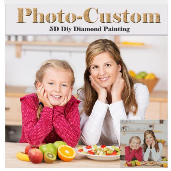 photo custom diy diamond painting full dril portrait paint on canvas family picture pet lover poster kids photo children wall art design 50cmx50cm