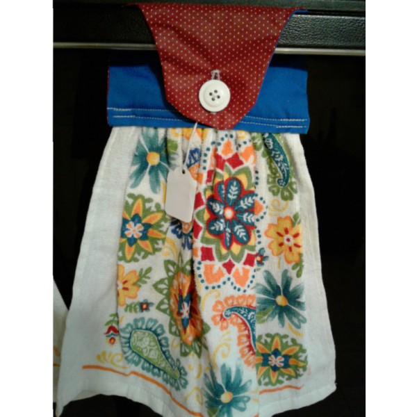 Button-up Dishtowel