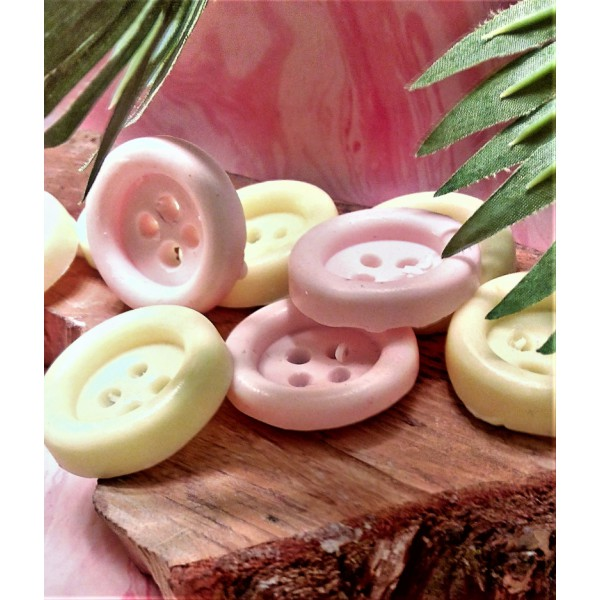 Button soaps. set of 9