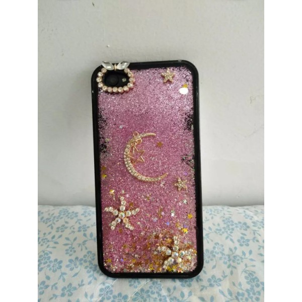 Floating Glitter Phone case iPhone 6P case iPhone 7 case iPhone 8 case iPhone X case