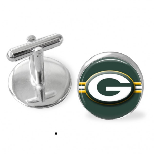 Greenbay Packers football cuff links, Packers , NFL , NFL playoffs,Sporty gift, NFL keepsake, groomsmen gift