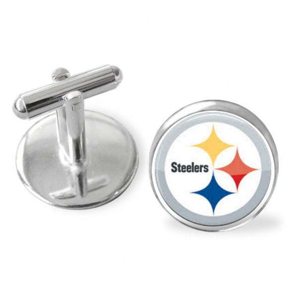 Pittsburgh Steelers, NFL playoffs, football cuff links, Steelersfootball, groomsman gift, NFL football accessories, sporty gift