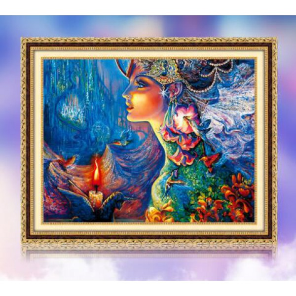 diamond painting set skull head wall art halloween decor flower picture mosaic cross stitch rhinestone pasted 40cmx40cm