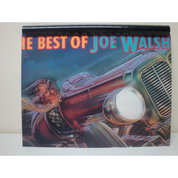 Custom made Record Album Art Notebook The Best of Joe Walsh