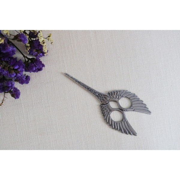 Wing Style Bird Scissors Stitching Tools Swan Sewing Embroidery Scissors - White