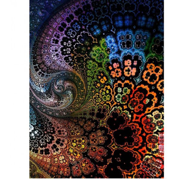 full square dimaond painting kit abstract pattern wall art mandala home decor 40x55cm