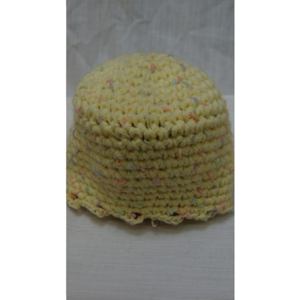 Yellow Baby's Hat