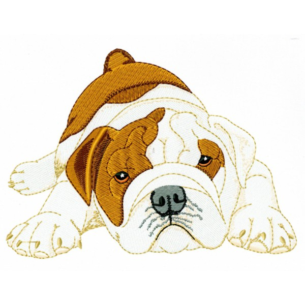 Dog Patch, Dog Patches, Bulldog, Bull Dog, Large Iron On Dog Patch, Sew on Dog Patches, Dog Lover Gift