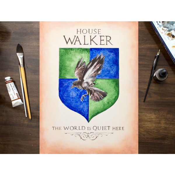 Custom Art - Game of Thrones House Sigil / GOT Inspired Coat of Arms - Custom House Shield