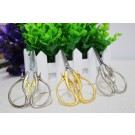 Fancy Stainless Steel Stitching Tools Sewing Embroidery Swan Scissors - Silver
