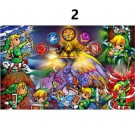 zelda diamond painting full square drill painting on canvas picture cartoon poster anime toy wall art 30cmx40cm