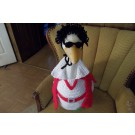 Elvis Goose Goose Crochet Outfit Garden Decor Rock and Roll Entertainer Lawn Goose Clothes