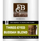 Our Fair Trade Organic Three-Eyed Buddha Blend Coffee is a smooth, well-balanced, aromatic karmic experience. 12oz