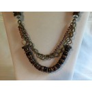 Bronze/Cooper Chunky Statement Necklace
