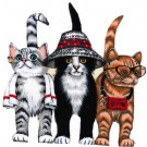 Cat Iron On Patches, Cotton Fabric, Cute Cat Patches, Patches For Jackets, Jeans Crafts