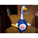 Chicago Cubs Baseball Geese Goose Outfit Lawn Garden Clothes Lawn Statue Clothes Outdoor Decor