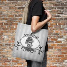 Sugar Skull Tote Bag Over Sized 18