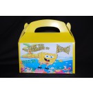 Qty 4 Spongebob Candy Favor Goody Boxes