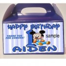Qty 4 Baby Mickey or Baby Minnie Birthday Favor Goody Treat CandyBoxes, Babies 1st birthday