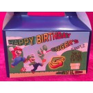 Qty 4 Mario Bros Candy Favor Goody Boxes