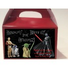 Qty 4 Star Wars Candy Favor Goody Boxes