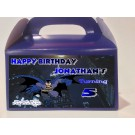 Qty 4 Batman Personalized, Party Candy Goody Favor Boxes