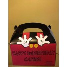 Qty 4 Mickey Mouse Favor Boxes