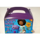 Qty 4 Home Cast Dreamworks Home, Spaceship, Birthday Celebration,Personalized, Boys & Girs, Goody Boxes