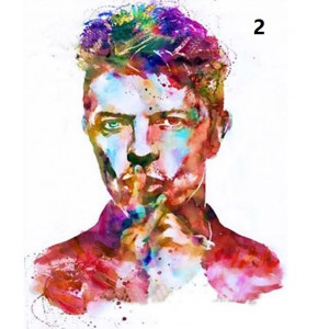 david bowie diamond painting kit portrait wall decor man picture painting with diamond dots poster 50x60cm
