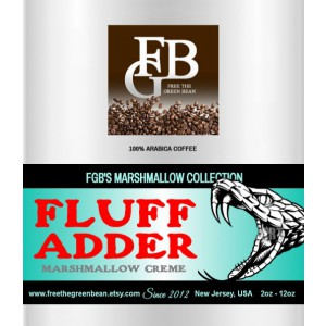 The FLUFF ADDER Marshmallow Creme Collection is available in 18 different flavors! 12oz