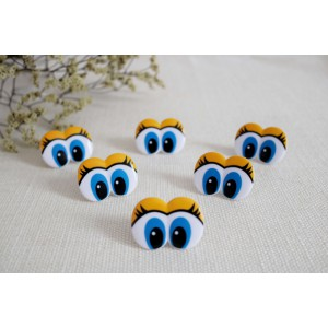 Toy Safety Printed Eyes Comic Eyes Animal Eyes Cartoon Eyes for Crochet Doll