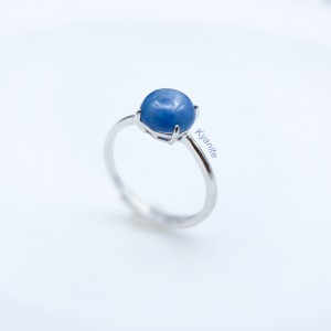 Natural Gemstone Rings, Minimalism,Silver Jewelry, Silver Ring, Each Is Unique, Gift for Her, Sterling Silver