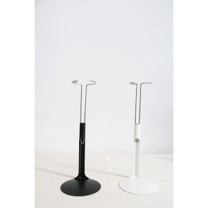 4.72-7.87 inches Stand Doll Accessories Car Fix Stand Metal Doll Display Stand - Black