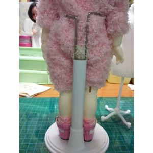 High Quality Toy Stand Teddy Bear Monchhchi Supply Doll Display Stand - 15 cm