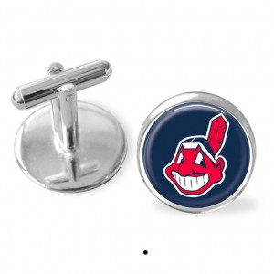 Sporty gift, Cleveland Indians cufflinks, World series gift, giftsfor men, Indians logo, gifts for guys, r, baseball gift
