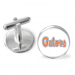 Gifts for men, University of Florida, sporty gift, Florida GatorsSEC cuff links, sporty cuff links, cufflinks,collegesports,groomsmen gift