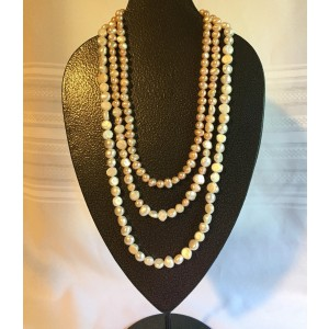 Tiered Freshwater Pearl Necklace