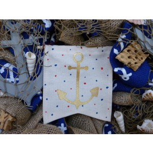 Anchors Away Front Door Wreath