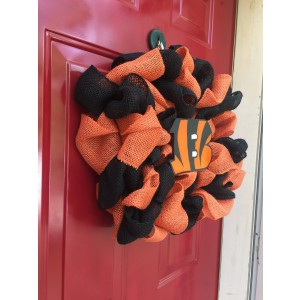 Bengals Door Wreath