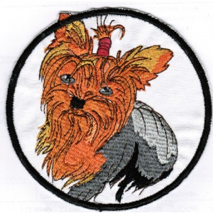Dog Patches For Denim Jackets Jeans Yorkie Iron On Patch Sew On Patches Yorkshire Terrier Dogs