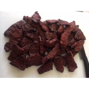 Sriracha, Beef Jerky, 4 ounce, Father's Day Gift, Smoked Jerky,Gifts for Dad, Artisanal Jerky, Small Batch, Free Shipping