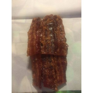 Bbq bacon, Smoked Meat, Jerky, Meat, Food Gift, 4 ounce, Handmade,artisan,