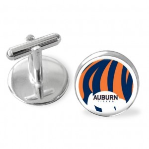 Sporty gift, Auburn University Tiger stripes cuff links, AuburnTigers, college logo