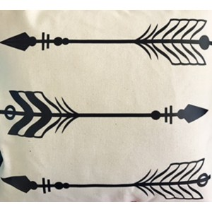 Arrows throw pillow cover 14 x 14