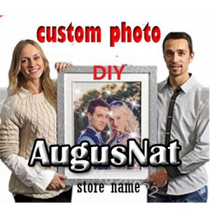customize photo diy diamond painting full dril portrait paint on canvas family picture pet lover poster design 60cmx80cm
