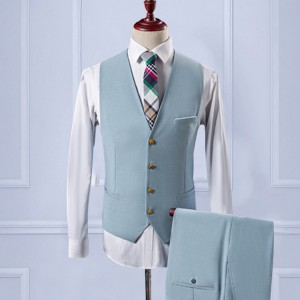 Custom Wedding Suit【Handmade】Mens Suit wool blend 3piece