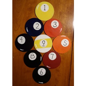 9 - Ball Coaster set