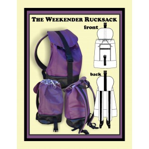 The Weekender Rucksack Sewing Pattern