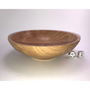 White Oak Serving Bowl, Wooden Bowl
