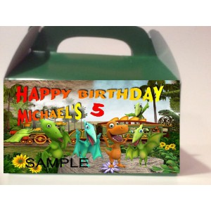 Qty 4 Dinosaur Train Candy Favor Goody Boxes